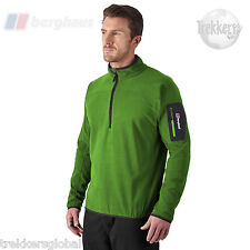 Berghaus Mens Caudale Half Zip Micro Fleece Top - All Sizes - New