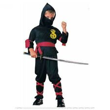 Ninja Boys Costume Fancy Dress Samurai Fight Outfit World Book Day Fun Party