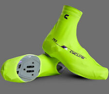 Bicycle Windproof Shoe Covers Bike Cycling Zippered Overshoes Sportwear 6 Colors