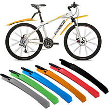New! Cycling Mountain Bicycle Bike Front / Rear Mud Guards Mudguard Fenders Set