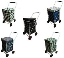 NEW Designed in the UK 4 wheels Shopping Trolley Bag Multicolored Waterproof Bag