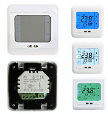 Touch Screen Programmable Underfloor Room Thermostat Temperature Controller