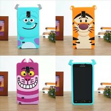 For SAMSUNG S3 S4 S5 I8190 I9190 NOTE 2 3 4 5 Soft Silicon Disney Monster Case