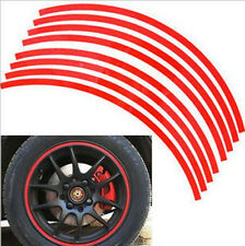 Reflective CAR/MOTORCYCLE 17 Inch Wheel Rim Pin Stripe Sticker 17 Strip/Set