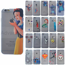 Snow White Princess Mario Hard Plastic Matte Clear Case for iPhone 6/5/5S/4/5C