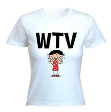WTV WOMEN'S T-SHIRT - Whatever Text Language Facebook Twitter - Sizes S-XL