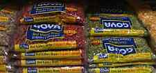Lot of 2 Goya Dry Beans and Grains White Red Peas Food Spanish Latin Cooking