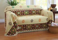 Collections Etc Aztec Southwest Furniture Throw Cover