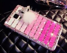 FOR APPLE iPHONE LUXURY 3D CRYSTAL DIAMOND CASE BLING DIAMANTE HARD COVER
