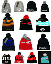 Hip Hop Men's Diamond DMND Beanies Winter knit Fashion caps wool NEW Hats HB30