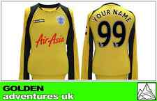 *12 / 13 - LOTTO ; QPR AWAY GK SHIRT LS / PERSONALISED = SIZE*