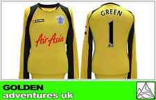 *12 / 13 - LOTTO ; QPR AWAY GK SHIRT LS / GREEN 1 = SIZE*