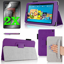 """PU Leather Case Cover w/ Stand For 2014 Amazon Kindle Fire HD 6"""" + Accessories"""