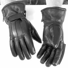 River Road Cold Weather Taos Leather Winter Mens Gloves Motorcycle Harley Street