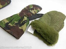 British Army Military Gore-Tex Extreme Cold Weather Mittens WITH FLEECE LINER