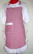 KIDS GINGHAM APRON Made to fit Most colors up to 12years of age