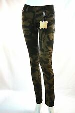 Ladies Rox Camouflage stretch Jeans Army Combat Camo 1,11 Casual Pants IS 32