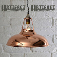 Copper Shade Ceiling Pendant Light Vintage Industrial Coolicon Type Lamp Modern