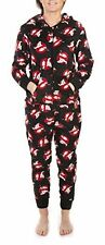 Womens Ghostbusters Onesie New Sleepsuit Nightwear Ladies All In One Pyjamas