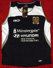 Hull FC Rugby League BLACK Training Vest - ISC