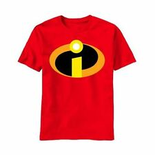 The Incredibles Basic Icon Logo Red T-Shirt