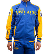 Ukrainian Football Soccer Tracksuit Jacket and Pants Set Ukraine zbirna olympic
