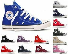 Converse All Star HI Top Canvas Pumps High Trainers Shoes Mens Womens UK Sizes
