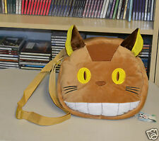 "TOTORO Soft Plush Totoro Catbus Shoulder Bag (Anime Cosplay) 10"" Diameter"
