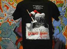 "Silent Night Deadly Night ""Rooftop"" Shirt Lucio Fulci Dario Argento Horror"