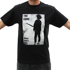 The Cure Boys Don't Cry Rock Band Graphic T-Shirts
