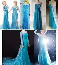 Frozen - Vestiti Carnevale Elsa from 12  Y  - Dress up Elsa Costumes 8899001-3