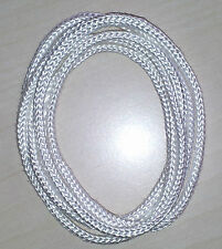 Braided Silica wick rope - high quality  temperature resistance   1300°C