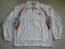 Yonex White England Zipped Badminton Tracksuit Jacket - Brand New