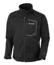 "NEW MENS COLUMBIA ""KEY THREE II"" SOFTSHELL OMNI HEAT, OMNI WIND BLOCK, JACKET"