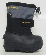 COLUMBIA POWDER BUG WATERPROOF BOOTS BV1302 TD BABIES TODDLERS BLACK SELECT SIZE