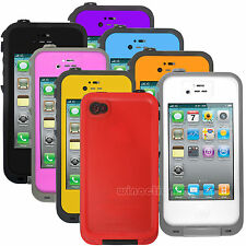 Waterproof Shockproof Dirt Dust Proof Durable Hard Cover Case For iPhone 4 4S