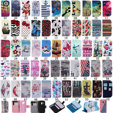 For Samsung Galaxy S3 / S3 Mini Fashion Flip Printed PU Leather Stand Case Cover