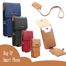 Remax Leather Pedestrian Bag Wallet Case Cover For iPhone 6 Plus Sumsung Note 4