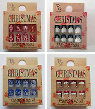 Primark PS Beauty False Fashion Nails Nail Art *CHRISTMAS DESIGNS*