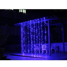 CANADA Ship! 10FT*3M Xmas New Year Wedding Party Fairy String Curtain Lights
