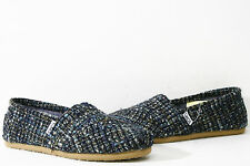 Toms Wmns Classic Dark Blue Boucle Shoes 10003625 US Womens 6~9 All Available.