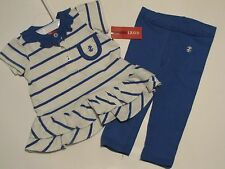 NWT IZOD 2 Piece Shirt & Leggings Set Infant Baby Infant Girl Outfit $28