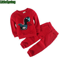 Winter Baby boy girl outfits kids solid set baby costume kids embroidery suits