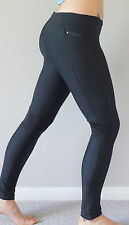 running leggings sports fitness gym ladies exercise yoga ANKLE LONG LENGTH BLACK