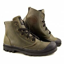 Warehouse Sale! Mens Palladium Pampa Combat Boots New, Army Green FREE SHIPPING