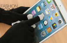 3pcs Magic Touch Screen Gloves Smartphone Winter Knit mitts For Ipad Iphone