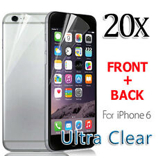 New Apple for iPhone 6 6S Screen Protector Front And Back Clear Film 4.7''