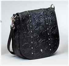 Gun Tote'n Mamas Tooled Leather Concealed Carry Purse Western Crossbody CCW  Bag