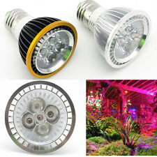 Plant Grow Light E27 5 LED 5W Red/Blue Bulb Garden Hydroponic Greenhouse Lamp
