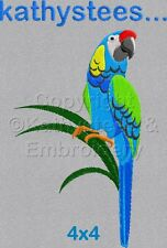 Parrots - Machine Embroidery Designs Set of 10 On CD